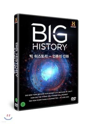 히스토리채널 : 빅 히스토리-인류의 진화 (4Disc)