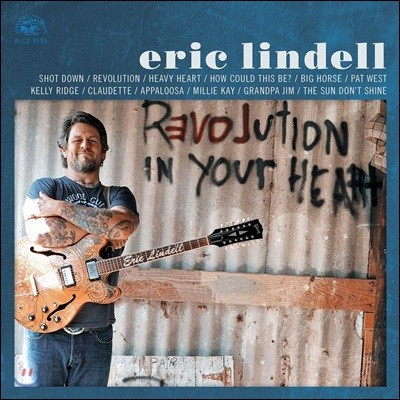 Eric Lindell (에릭 린델) - Revolution In Your Heart [투명 오렌지 컬러 LP]