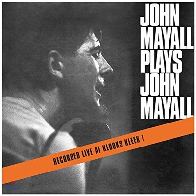 John Mayall & The Bluesbreakers (존 메이올 & 더 블루스 브레이커스) - John Mayall Plays John Mayall [투명 컬러 LP]