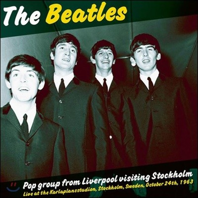 Beatles (비틀즈) - Pop Group From Liverpool Visiting Stockholm [LP]
