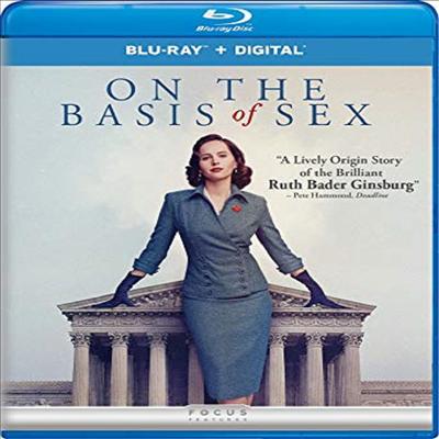 On The Basis Of Sex (세상을 바꾼 변호인)(한글무자막)(Blu-ray)