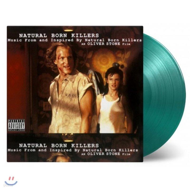 올리버 스톤의 킬러 [내츄럴 본 킬러] 영화음악 (Natural Born Killers OST) [그린 컬러 2LP]