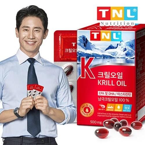 TNL뉴트리션 남극 크릴오일 1박스 (1개월분)