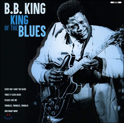 B.B. King (비비 킹) - King Of The Blues [LP]