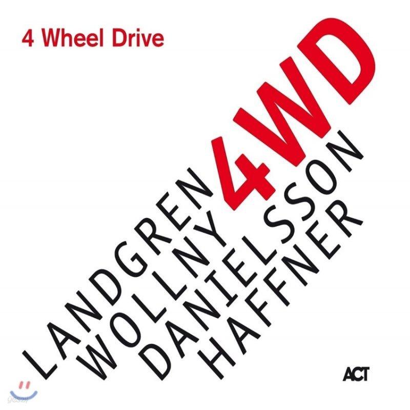 Nils Landgren / Michael Wollny / Lars Danielsson / Wolfgang Haffner- 4 Wheel Drive [LP]