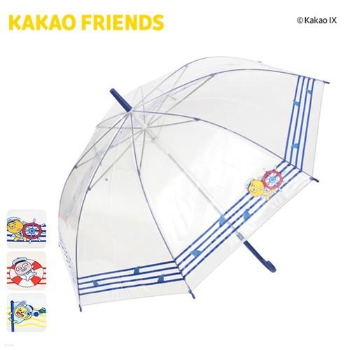 카카오프렌즈 자동장우산 [60마린스트라이프POE-...