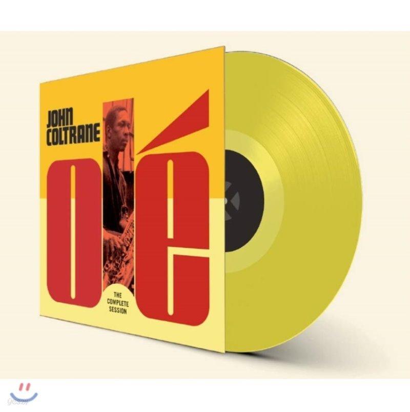 John Coltrane (존 콜트레인) - Ole Coltrane: The Complete Session [옐로우 컬러 LP]