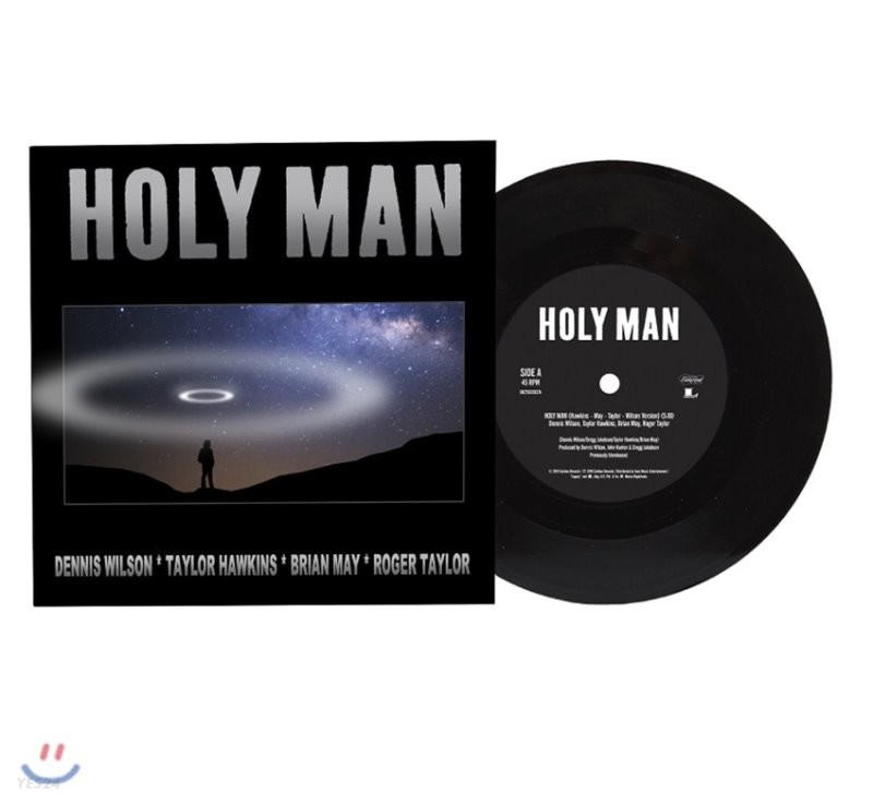 Dennis Wilson / Taylor Hawkins / Brian May - Holy Man [LP]
