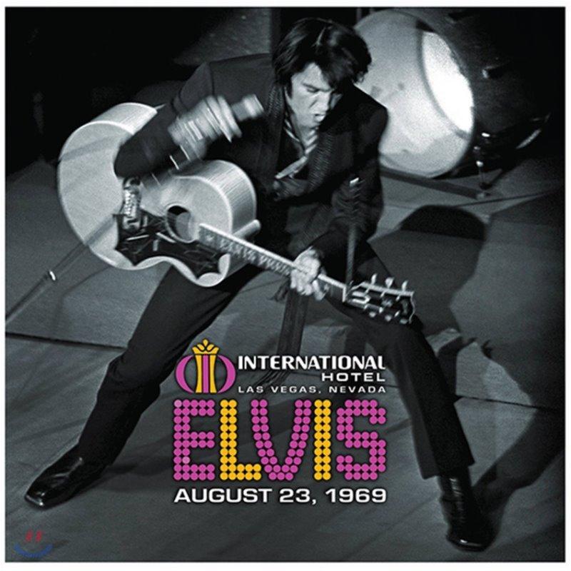 Elvis Presley (엘비스 프레슬리) - Live At The International Hotel, Las Vegas, NV August 23, 1969 [2LP]