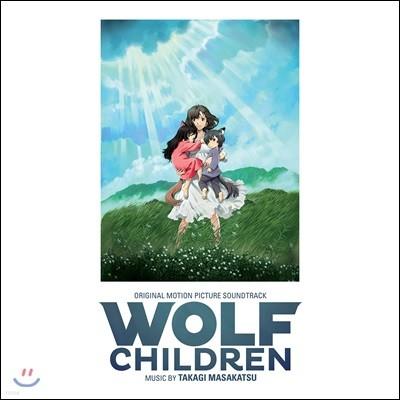늑대아이 영화음악 (Wolf Children OST by Takagi Masakatsu) [투명 그린 컬러 LP]
