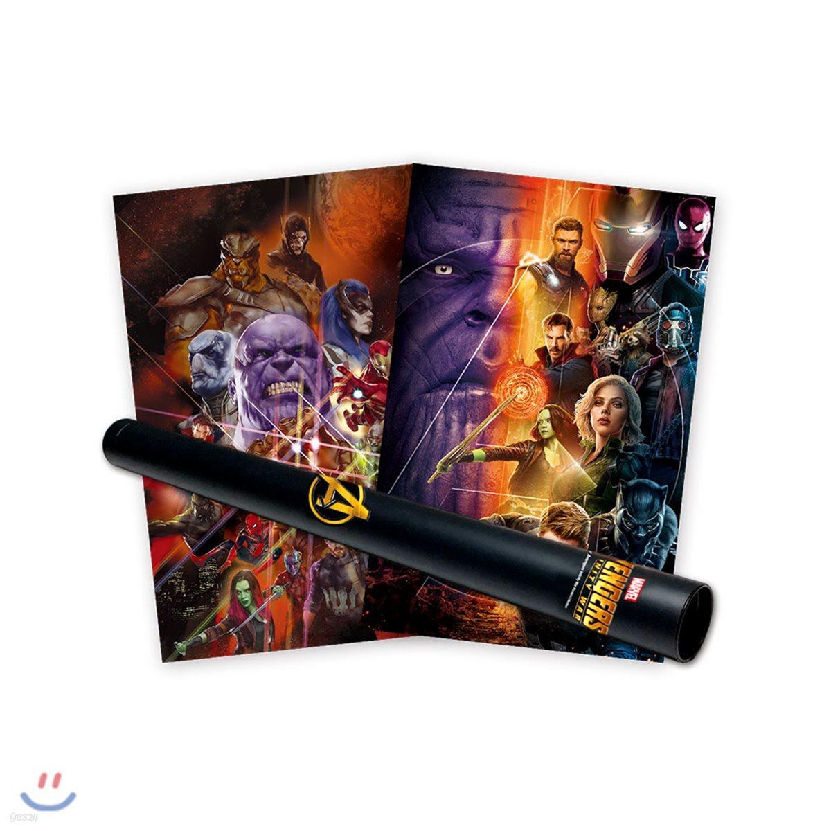 마블 어벤져스 인피니티 워 포스터 컬렉션