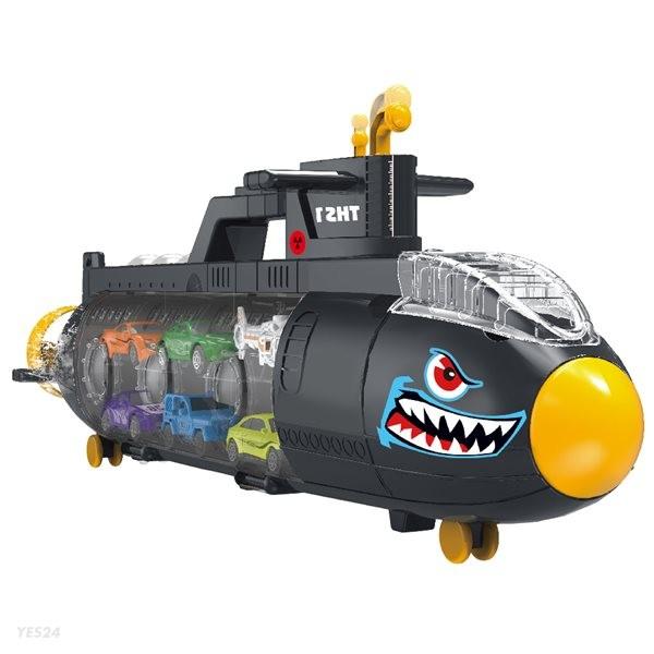 미니카 잠수함 캐리어 자동차 장난감 세트