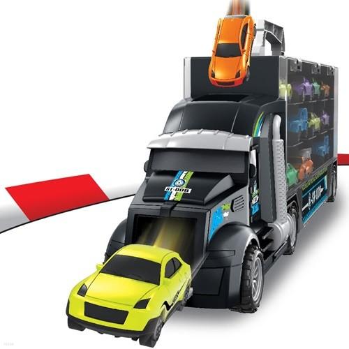 [예약판매]미니카 트럭 캐리어 자동차 장난감 세...