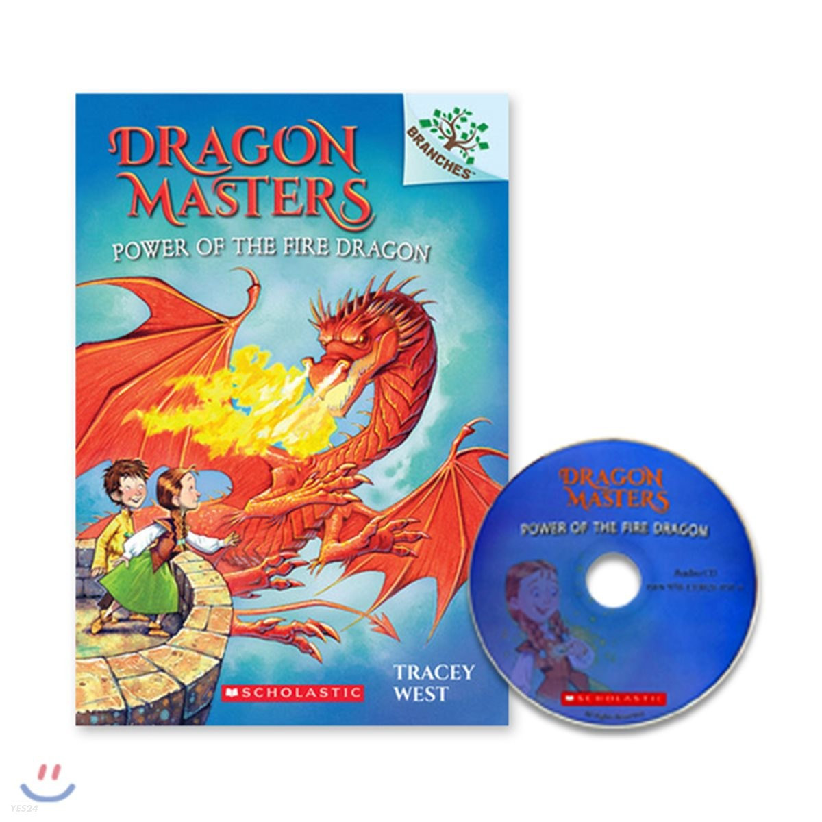 Dragon Masters #4 : Power of the Fire Dragon (Book & CD)