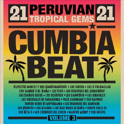 Various Artists - Cumbia Beat Volume 3: 21 Peruvian Gems