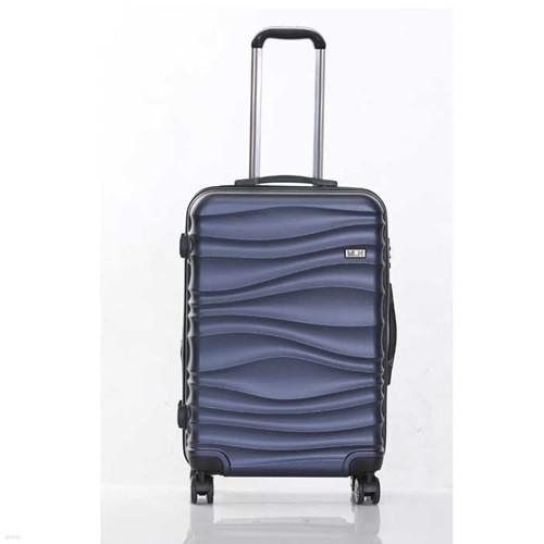 미치코런던 웨이브 네이비 24인치 확장형 캐리어 여행가방