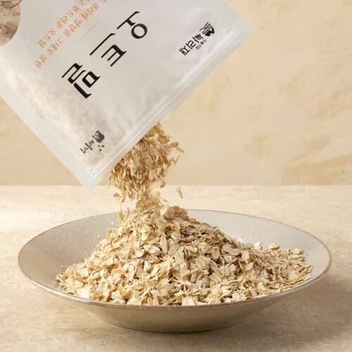[싸리재] 오트밀(볶아누른 귀리) 400g - 인공화...