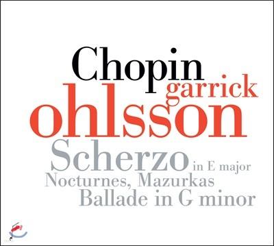 Garrick Ohlsson 쇼팽: 발라드 1번, 녹턴, 마주르카 외 (Chopin: Ballade op.23, Nocturnes, Scherzo op.54, Mazurkas)
