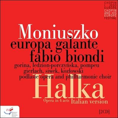 Fabio Biondi 스타니슬라프 모니우슈코: 오페라 '할카' (Stanislaw Moniuszko: Halka)