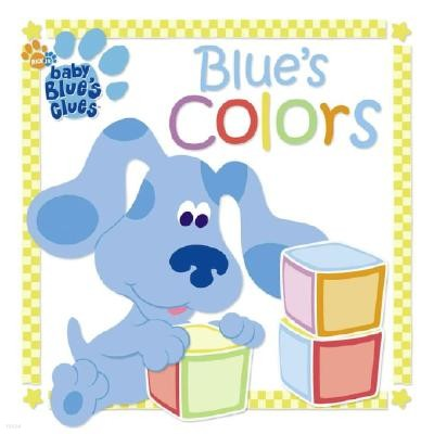 Blue's Colors: A Book and Blocks Play Set