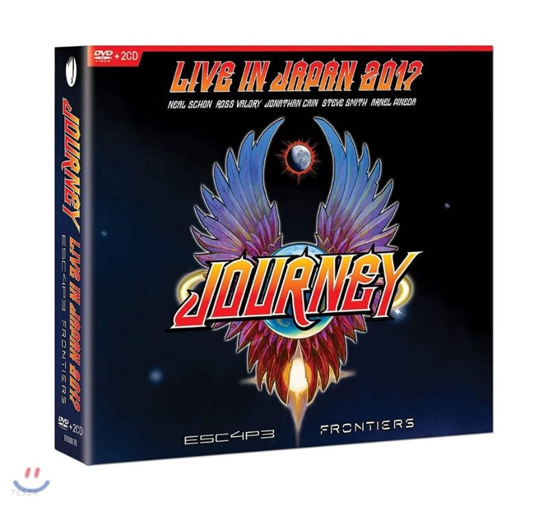 Journey (저니) - Escape & Frontiers Live In Japan [2CD+DVD]