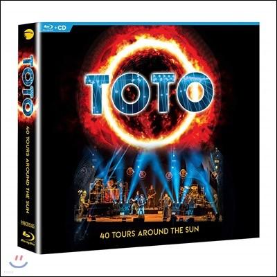 Toto (토토) - 40 Tours Around The Sun [2CD+Blu-ray]