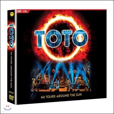 Toto (토토) - 40 Tours Around The Sun [2CD+DVD]