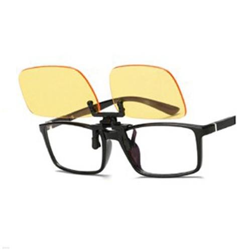 블루라이트차단  청광안경 보안경+안경주머니 - 클립 스타일