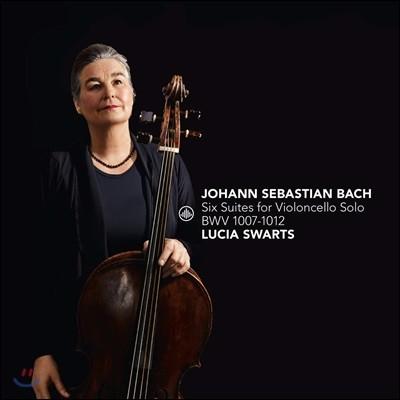 Lucia Swarts 바흐: 무반주 첼로 모음곡 전곡집 - 뤼시아 스바르츠