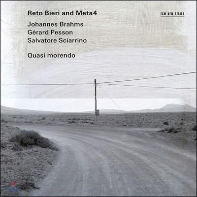 Reto Bieri / Meta4 클라리넷과 현악기 실내악곡집 (Quasi Morendo)
