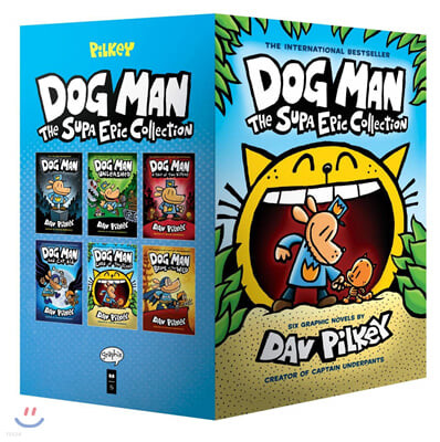 Dog Man the Supa Epic Collection : 도그맨 원서 페이퍼백 6종 박스 세트