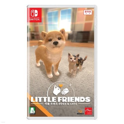 [스위치 타이틀]리틀 프렌즈 -DOGS & CATS-