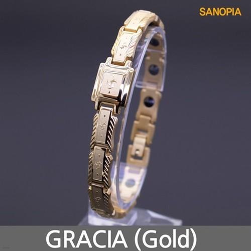 사노피아 게르마늄 티타늄 팔찌 그라시아 (골드)