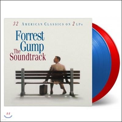 포레스트 검프 영화음악 (Forrest Gump OST) [투명 블루 & 레드 컬러 2LP]
