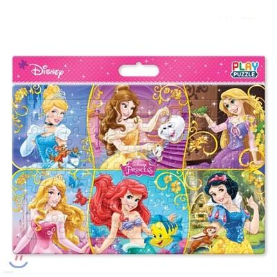 디즈니 판퍼즐 여섯 명의 프린세스