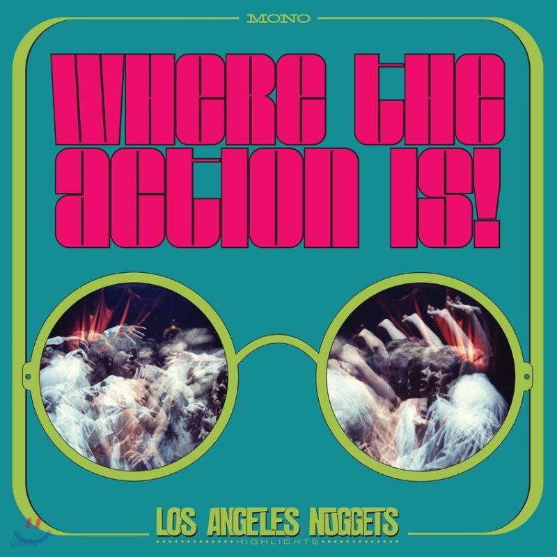1960년대 언더그라운드 록 모음집 (Where The Action Is! Los Angeles Nuggets 1965-1968) [2LP]