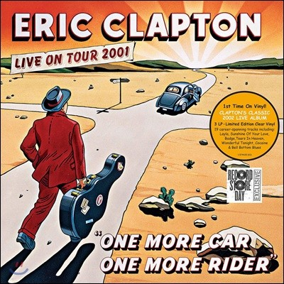 Eric Clapton (에릭 클랩튼) - One More Car, One More Rider [투명 컬러 3LP]