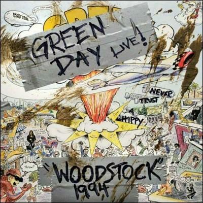 Green Day (그린 데이) - Woodstock 1994 [LP]