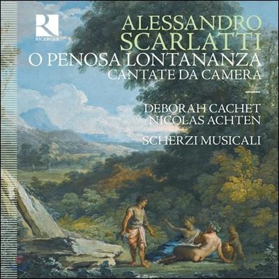 Nicolas Achten 알렉산드로 스카를라티: 실내 칸타타 (Alessandro Scarlatti: O Penosa Lontananza)