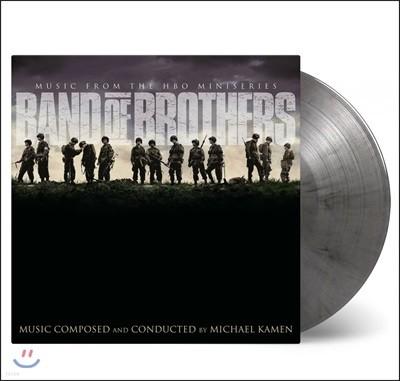 밴드 오브 브라더스 드라마 음악 (Band Of Brothers OST by Michael Kamen) [실버 앤 블랙 마블 컬러 2LP]