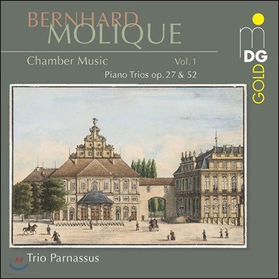 Trio Parnassus 베른하르트 모리크: 피아노 트리오 연주집 (Molique: Piano Trio Op. 27, 52)