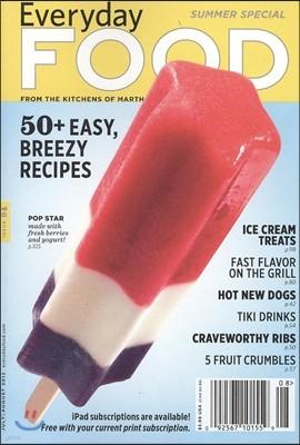 (Martha Stewart Living) Everyday Food (월간) : 2012년 7, 8월