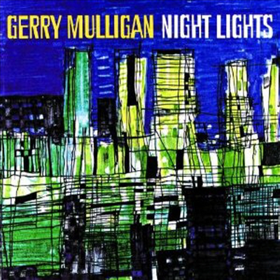 Gerry Mulligan - Night Lights (W/Art Fammer, Bob Brookmeyer)(CD)