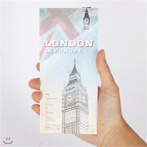 [25%할인]여행지도 북마크_런던여행