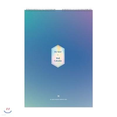 뉴이스트 (NU'EST) 2019 시즌 그리팅 벽걸이 달력