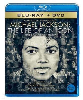마이클 잭슨 : 더 라이프 오브 언 아이콘 : 블루레이+DVD 콤보