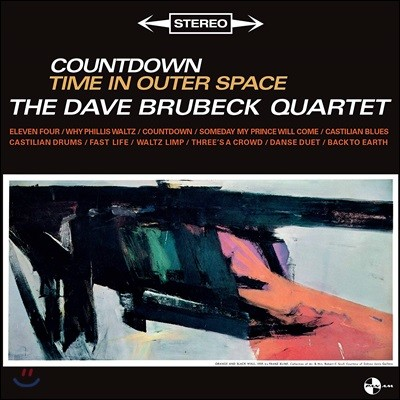 Dave Brubeck Quartet (데이브 브루벡 쿼텟) - Countdown Time in Outer Space [LP]