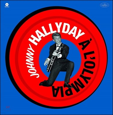 Johnny Hallyday (조니 할리데이) - A L'olympia [LP]
