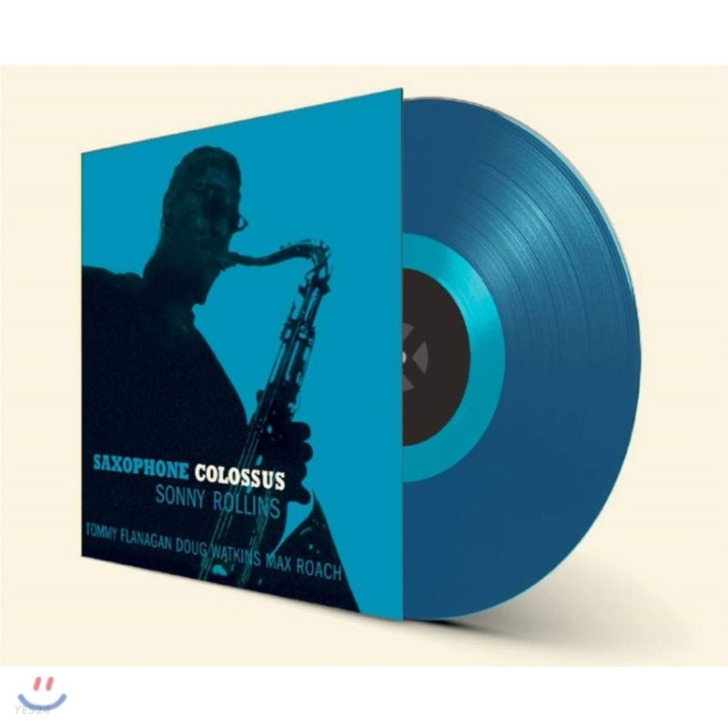 Sonny Rollins (소니 롤린스) - Saxophone Colossus [블루 컬러 LP]