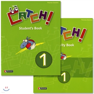 Catch! 1 : Student Book + Work Book(Activity Book)